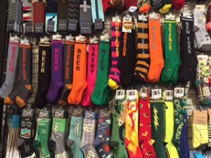 Socks are so trendy right now